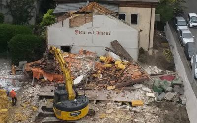 Mort d'une Chapelle : les Bulldozers du progrès